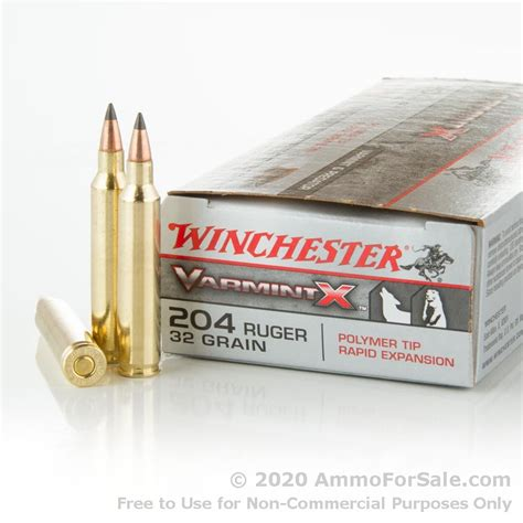 204 Rifle Ammo For Sale