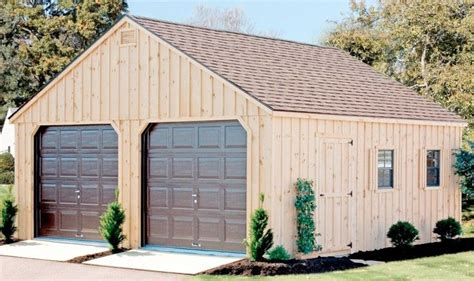 20x20 Gable Garage Plans