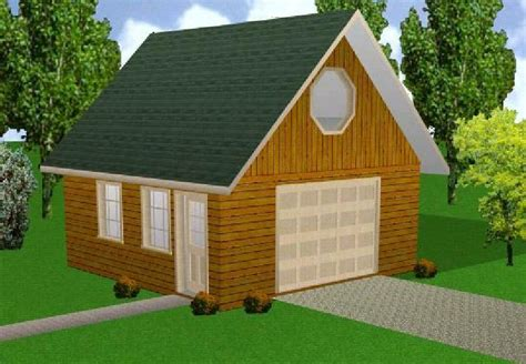 20x20 Shed With Loft Plans