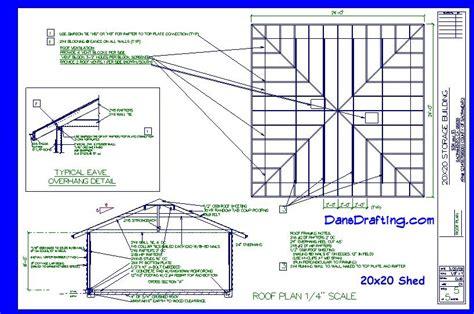 20x20-Storage-Shed-Plans