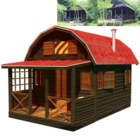20x24-Cabin-With-Loft-Plans-Free