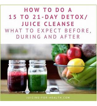 21 Day Juice Cleanse