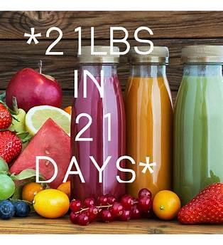 21 Day Juice Diet