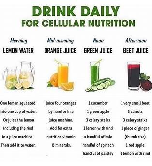 21 Day Juice Fasting Plan