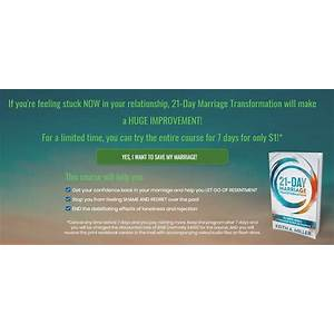 Cheap 21 day marriage transformation