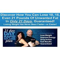 21 day rapid fat loss plan specials