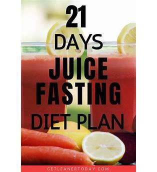 21 Days Juice Fasting