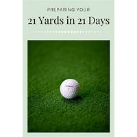 21 yards in 21 days that works