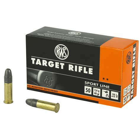 22 Ammo Target Shooting And 22 Long Rifle High Velocity Ammo In Stock