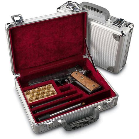 22 Handgun Gun Case And 25 Magnum Handgun