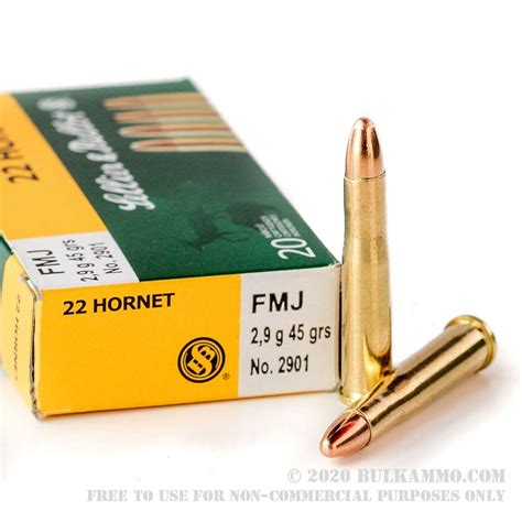 22 Hornet Ammo Weight And 22 Mag Ammo In Stock Free Shipping