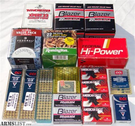22 Ammo Brands