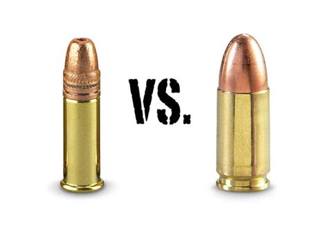 22 Ammo Compared To 9mm