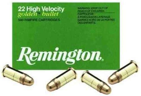 22 Ammo Low Velocity