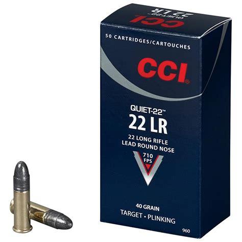 22 Ammo Silent Calibre