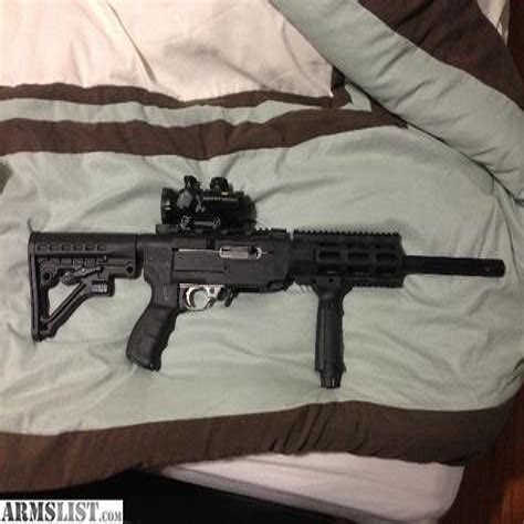 22 Assault Rifle Ruger