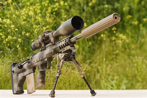 22 Assault Rifle With Suppressor