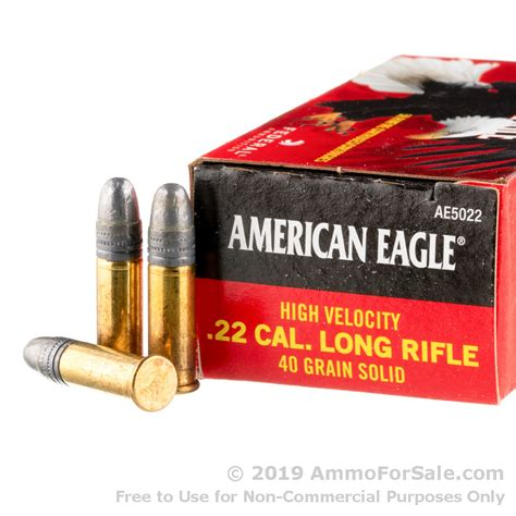 22 Cal Lr Ammo For Sale