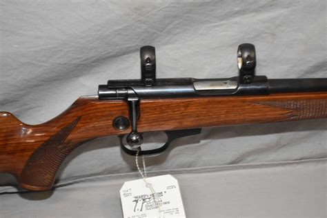 22 Caliber Bolt Action Magazine Load Rifle And 22 Caliber Rifle From 1950