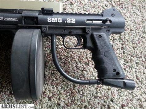 22 Caliber Fully Auto Rifle