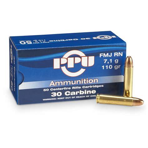 22 Caliber M1 Carbine Ammo