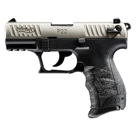 22 Caliber Walther P22 Semi Automatic Handgun