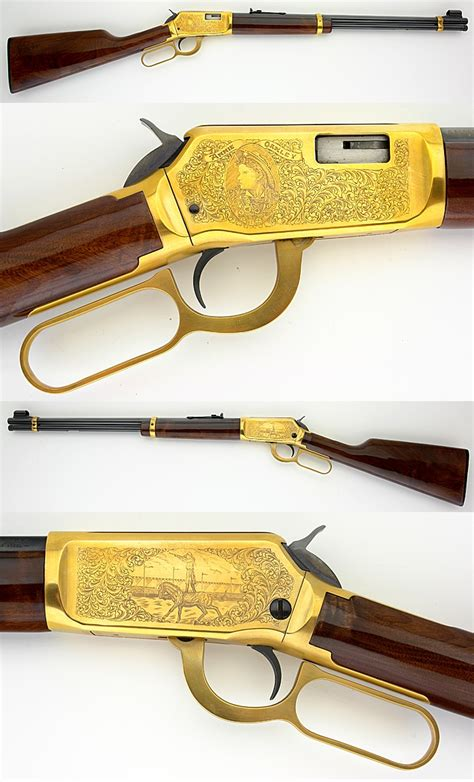 22 Caliber Winchester Lever Action Rifle