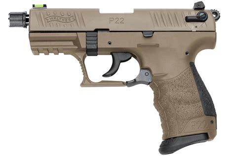 22 Handguns With Threaded Barrels