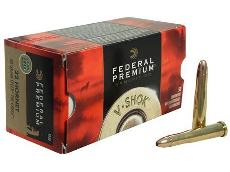 22 Hornet Federal Ammo