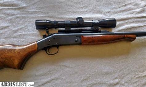 22 Hornet Handi Rifle For Sale