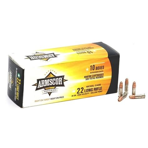 22 Long Rifle Ammo Cases