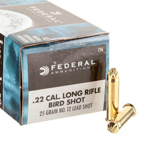 22 Long Rifle Birdshot Ammo For Sale