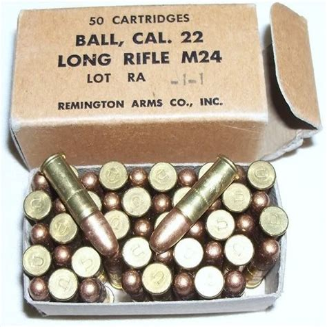 22 Long Rifle Full Metal Jacket Ammo