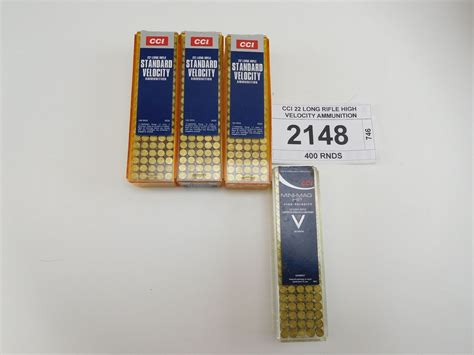 22 Long Rifle High Velocity Ammo For Sale