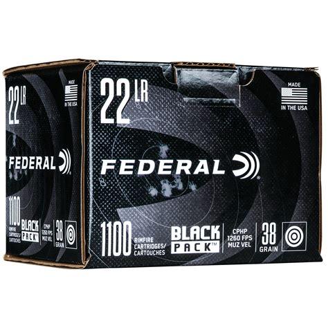 22 Lr Ammo Black Pack