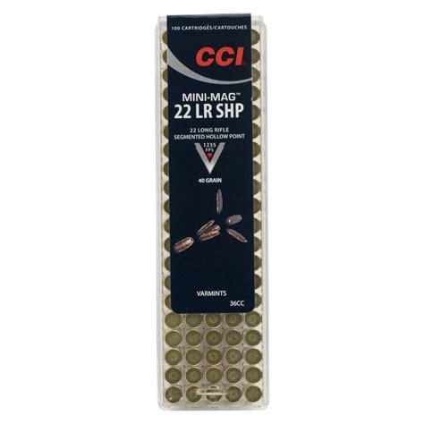 22 Lr Cci Shp Ammo