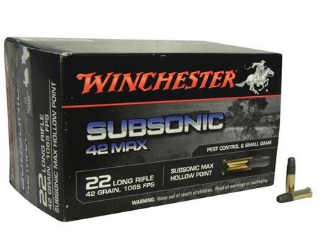 22 Lr Subsonic Ammo Uk