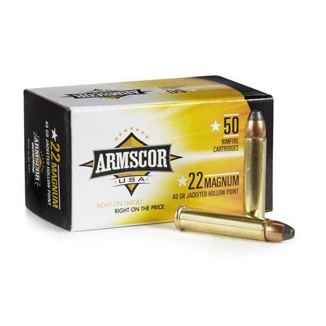 22 Mag Armscor Ammo