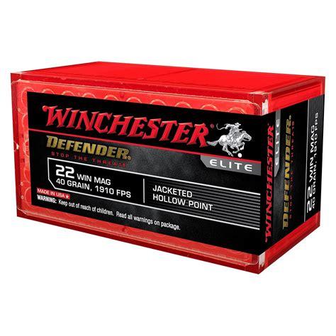 22 Magnum Pistol Ammo Winchester Pdx1