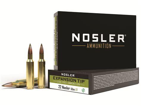 22 Nosler Ammo Box