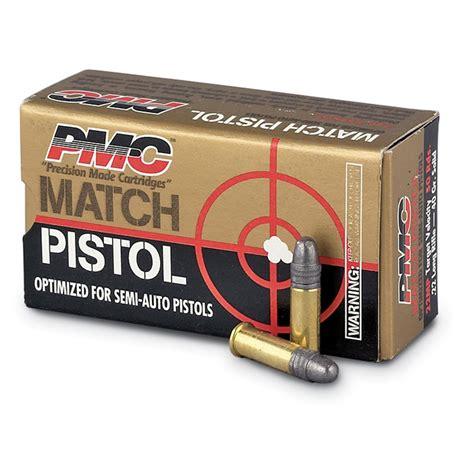 22 Pistols Ammo