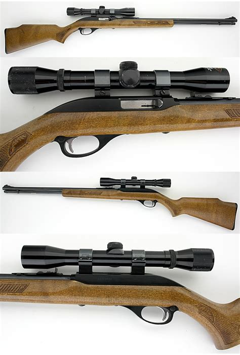 22 Rifle Scope For Marlin Model 60