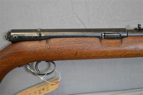 22 Rifle With Feed Tube Under Barrel
