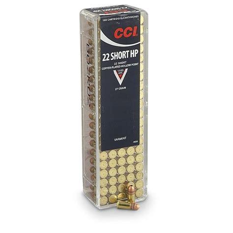 22 Short Rimfire Ammo