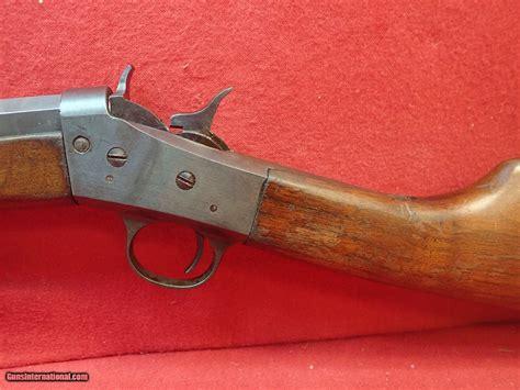 22 Single Shot Rifle With Octagon Barrel