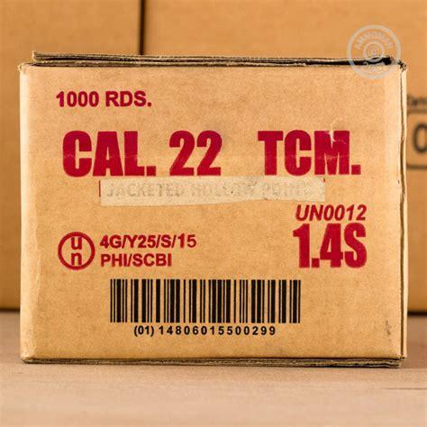 22 Tcm Ammo Specs