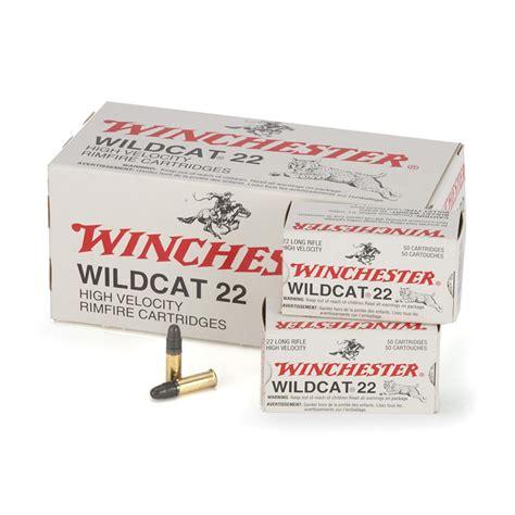 22 Wildcat Ammo