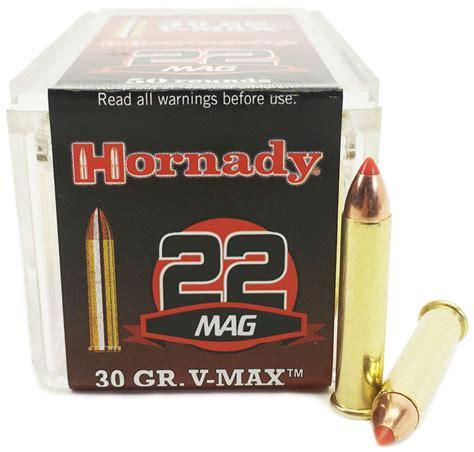 22 WMR 30 Gr V-MAX Varmint Express Rimfire - Hornady