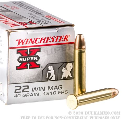 22 Wmr 40gr Ammo