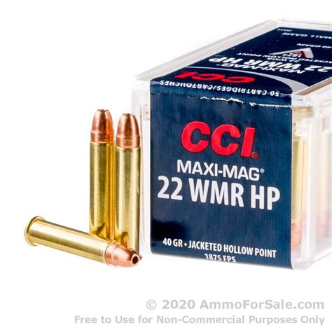 22 Wmr Ammo For Sale